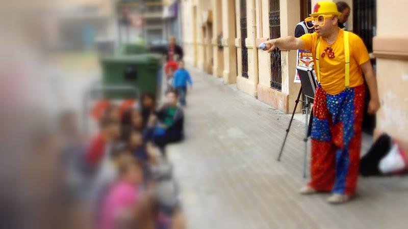 Animación en parc de Benicalap, Valencia