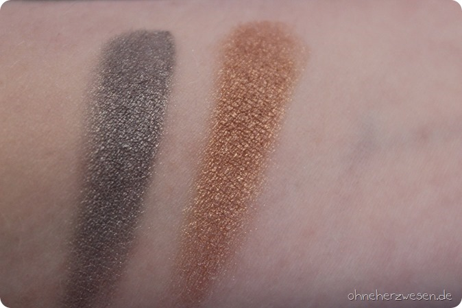 p2 the future is mine limited edition le dm drogeriemarkt januar 2016 lippenstift aurora brilliance moonlit sparkle virtually bronze shadowy metal eyeshadow lidschatten swatch test review  einkauf 7