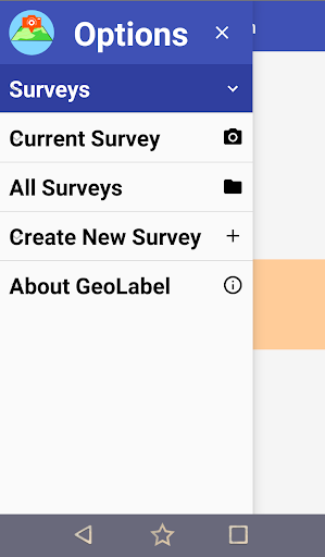 GeoLabel - Photo Surveys for Android screenshot 5