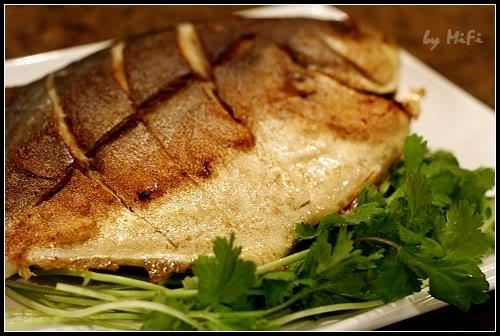 乾煎白鯧魚