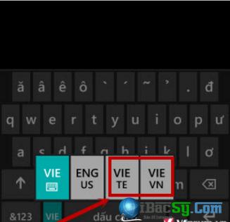 Hướng dẫn gõ Tiếng Việt cho Windows Phone + Hình 6