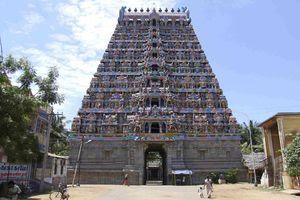 Mayiladuthurai Temple Majestic Main Gopuram