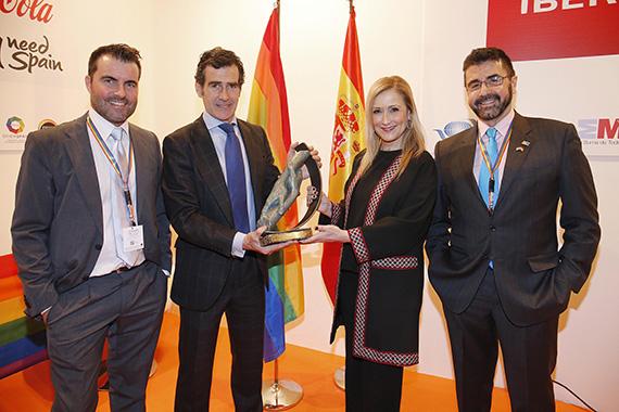 Premio FITUR GAY a la Comunidad de Madrid
