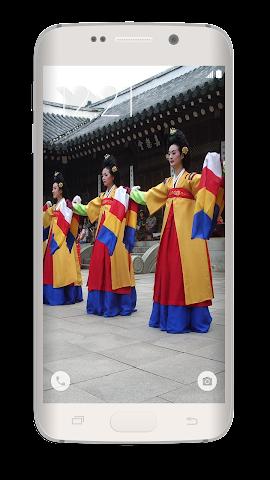 android Korean Photo Wallpaper Screenshot 1