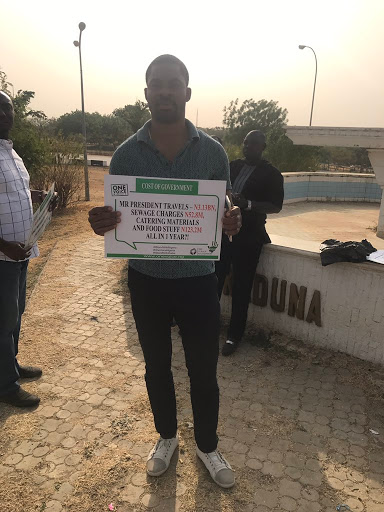 "LIVE UPDATES IN ABUJA: ""I stand with Nigeria"" Protest"