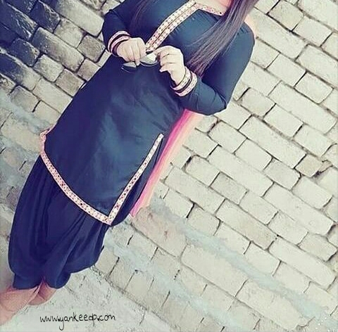 punjabi suit dp