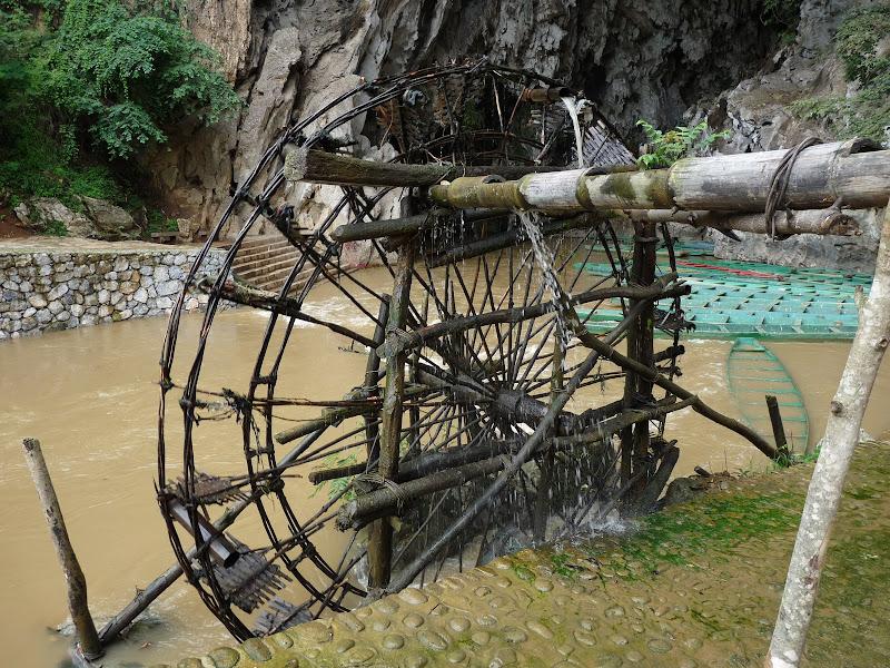 un réseau hydraulique très important