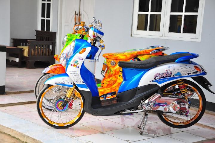 terbaru motor thailook style