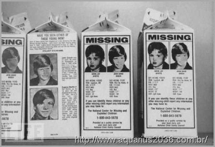 absuções e as milhares de criancas desaparecidas pelo mundo