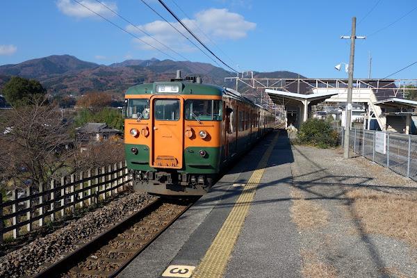 上越線 敷島駅