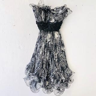 Marchessa Strapless Cocktail Dress