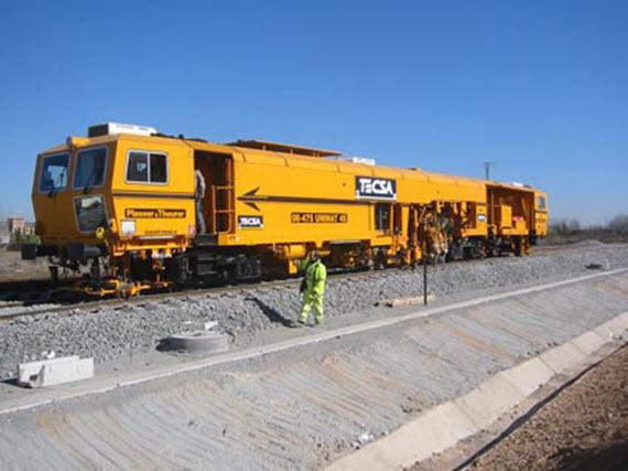 Obras de mejora de las vías de Cercanías entre Móstoles y Móstoles-El Soto