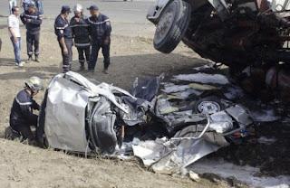 5 personnes tuées et 23 autres blessées en 48 heures dans des accidents de la route