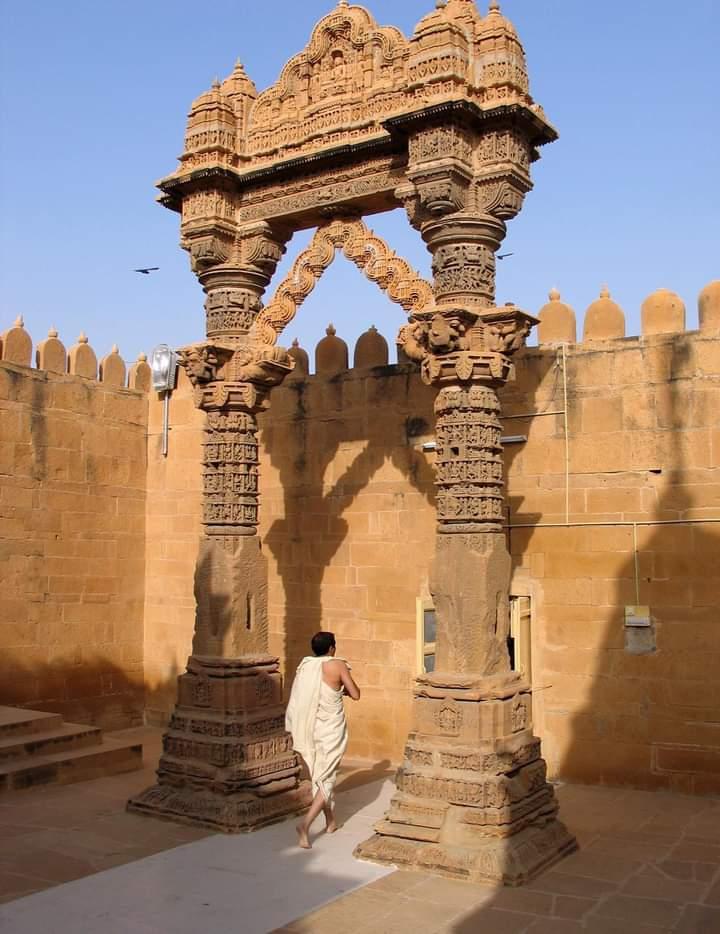 Lodurva's famous Jain temple in Jaisalmer