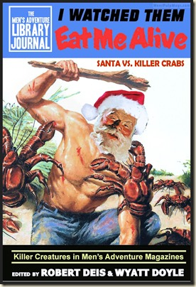 I WATCHED THEM EAT ME ALIVE Xmas spoof (George Gross, MC Nov 1956) REV