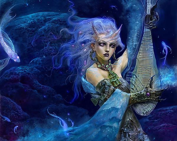Charming Goddess Of Fate, Demons