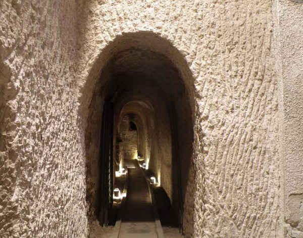 túneles de la Manzana de las Luces