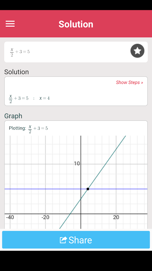 Symbolab - Math solver- screenshot