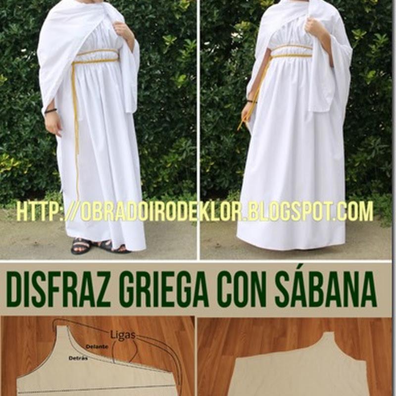 Como hacer Disfraz de diosa griega
