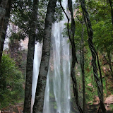 Cachoeira da Neblina (da Triângulo). Colider (Mato Grosso, Brésil), avril 2011. Photo : Cidinha Rissi