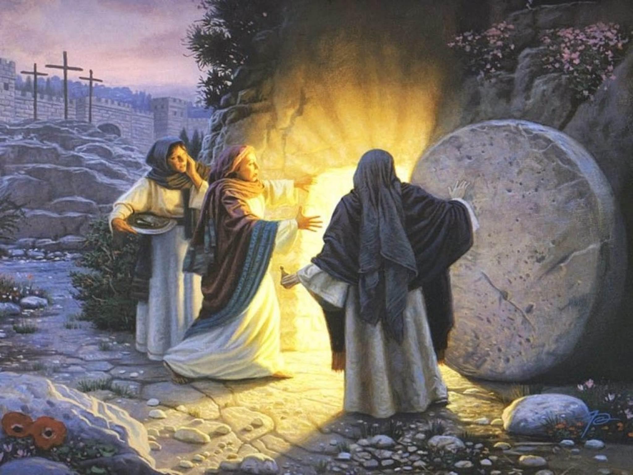 Mặt trời hé mọc (03.4.2021 – Thứ Bảy Tuần Thánh, Đêm Vọng Phục Sinh)