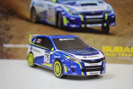 2011 Subaru Impreza WRX STI Papercraft