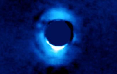 disco protoplanetário ao redor da jovem estrela HD 141569