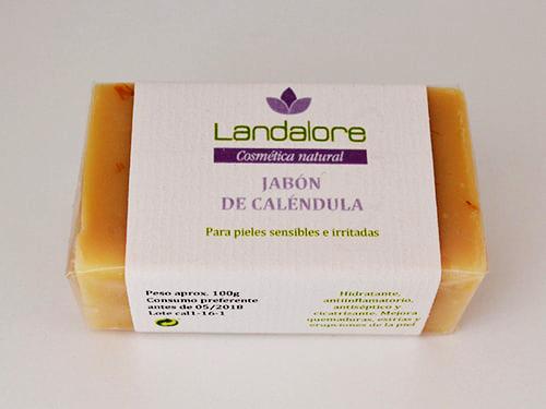 Jabón Natural de Caléndula Landalore