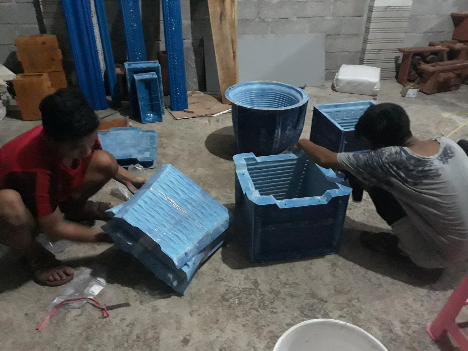 Ud Langgeng Jaya Fiber  Cetakan pot bunga b46d972d1d
