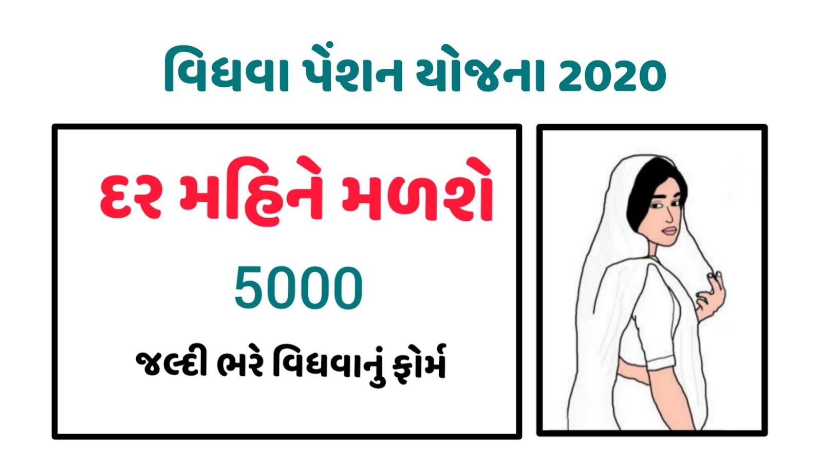 Vidhva Sahay Yojana Form In Gujarat PDF Download