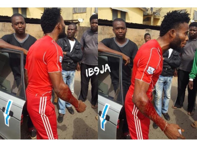 SARS officials brutalize man for refusing a phone check in Edo