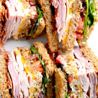 Club Sandwich (Turkey, Ham, Bacon) Recipe