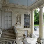 Château du Marais : escalier double