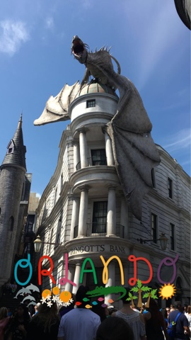 Universal Studios Day 1