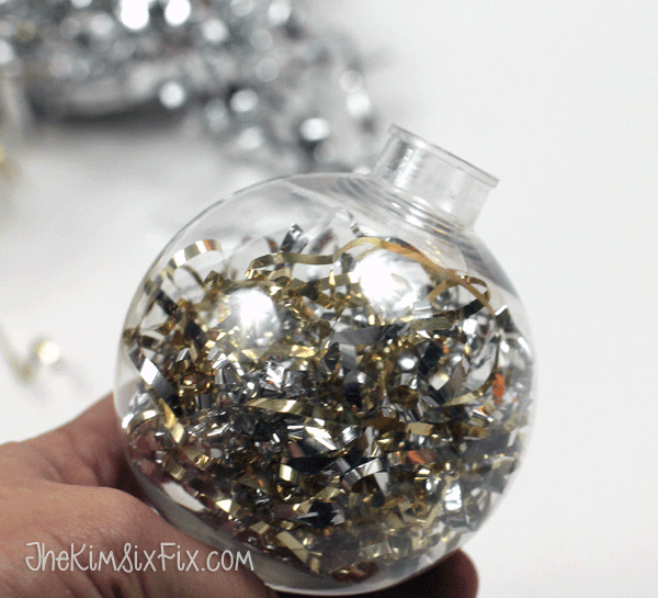 Silver and Gold filled ornament