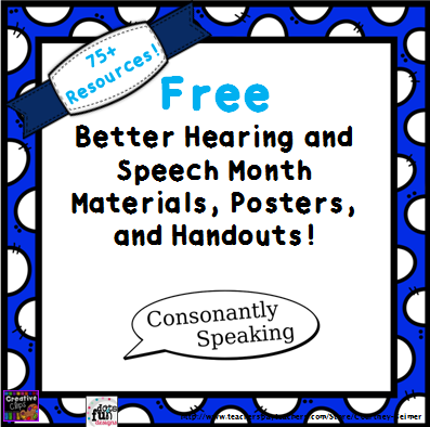 Free Materials to Promote Better Hearing and Speech Month (BHSM) 2015 image