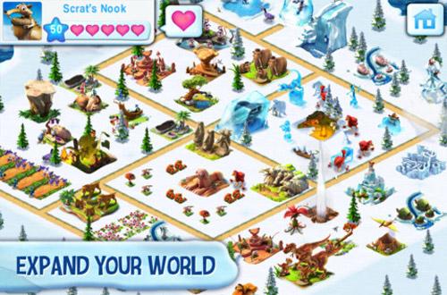Trở lại kỷ băng hà với Ice Age Village 4