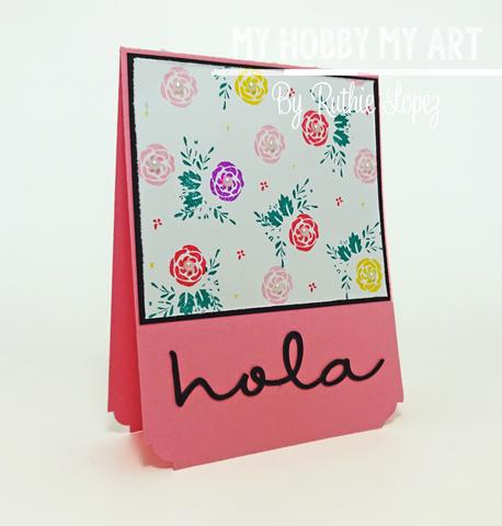 Latina Crafter, Latinas Arts and Craft, Blog Hop de Primavera, Ruthie Lopez 7