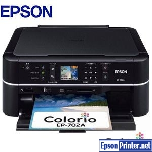 How to reset Epson EP-702A printer