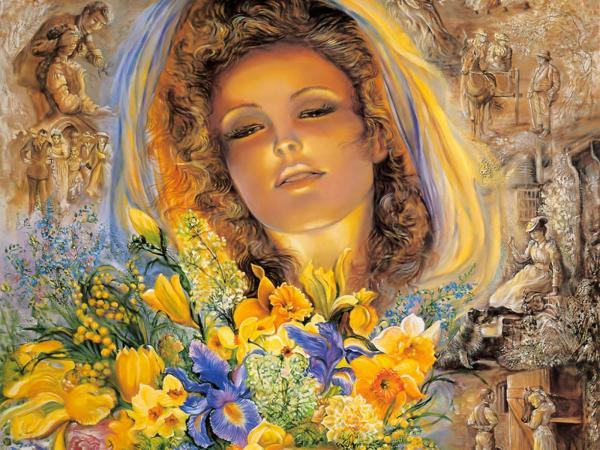 Fair Lady Of Flowers, Goddesses