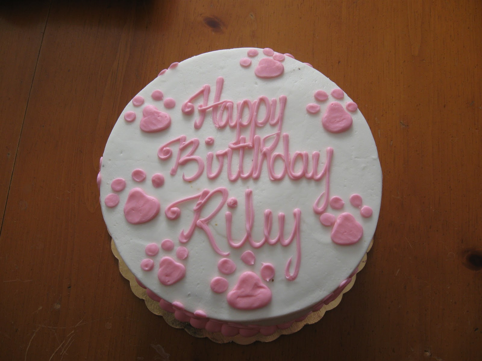 Whiskers2tails Pet Care Happy Birthday Riley