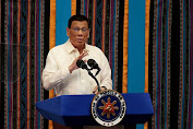 Presiden Filipina Duterte Sebut Kesepakatan Berakhir Jika AS 'Buang' Nuklir ke Negaranya