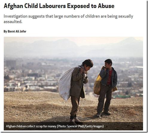 afghan abuse