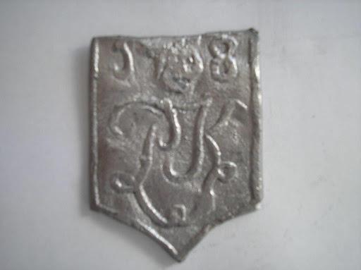 Naam Pieter Keun jaartal 1768 plaats Haarlem.JPG