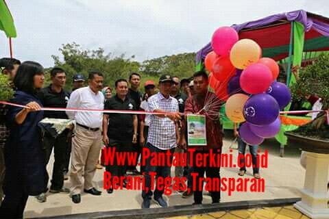 Bupati Lampung Barat Buka pameran  Bonsai  di KRL Liwa