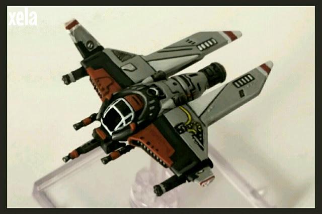 Interceptor M3-A heavy Scyk pintado por Xela