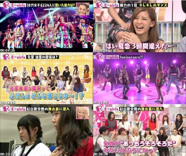[TV-Variety] E-girls – Rの法則 2016.02.09