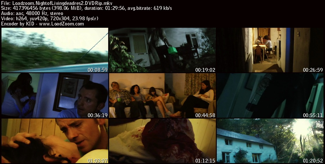 movie screenshot of Night of the Living Dead: Resurrection fdmovie.com