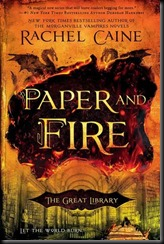 Paper and Fire  (The Great Library #2)