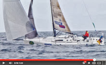 J/111 Xcentric Ripper sailing in Rolex Fastnet Race